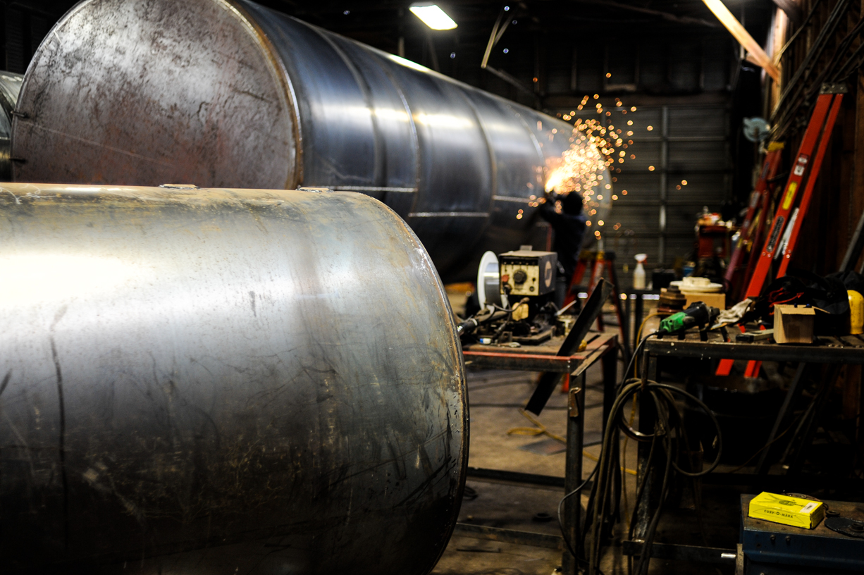 Custom tank fabrication