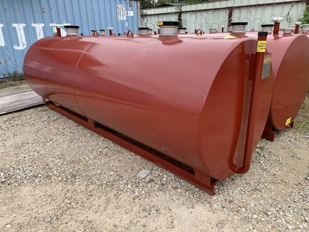 1000 gallon UL 142 aboveground double wall fuel tank